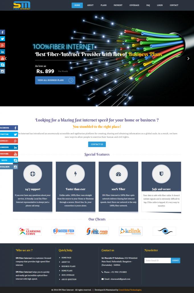 SM Fiber Internet